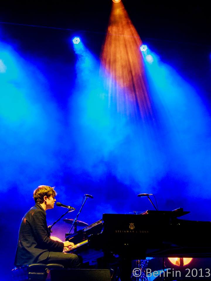 James Blake live at the Sydney Opera House, 29 July 2013